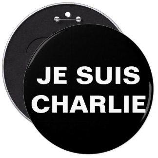 JE SUIS CHARLIE - I AM CHARLIE PINBACK BUTTON