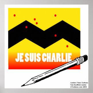 Je Suis Charlie I am Charlie Poster
