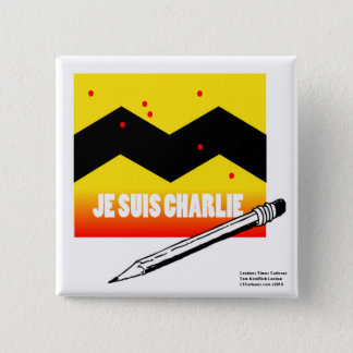 Je Suis Charlie (I Am Charlie) To Benefit Paris Button