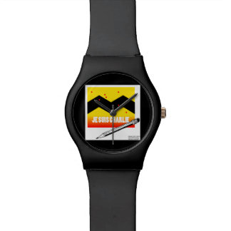 Je Suis Charlie I Am Charlie Unisex Watch