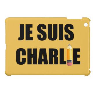JE SUIS CHARLIE iPad MINI COVERS