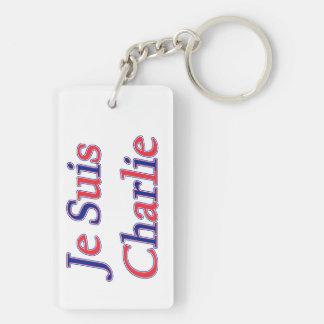 Je Suis Charlie Keychain
