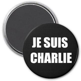 JE SUIS CHARLIE REFRIGERATOR MAGNET