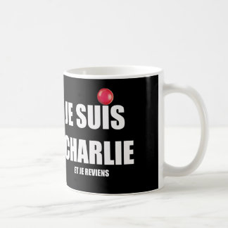 JE SUIS CHARLIE CLASSIC WHITE COFFEE MUG