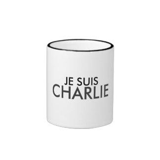 JE SUIS CHARLIE RINGER COFFEE MUG