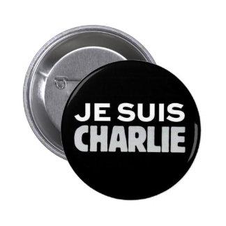 Je Suis Charlie Pinback Button