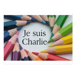 Je Suis Charlie Postcard