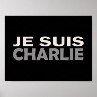 Je Suis Charlie Poster