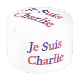 Je Suis Charlie Pouf