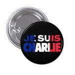 Je Suis Charlie - soy Charlie tricolor de Francia Pins