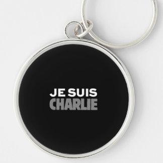 Je Suis Charlie - soy negro de Charlie Llavero Redondo Plateado