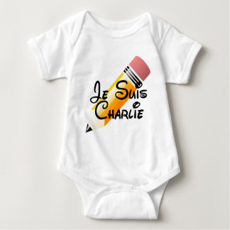 Je Suis Charlie Support Baby Bodysuit