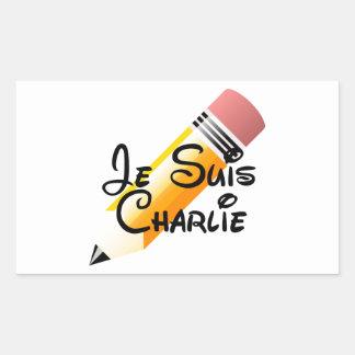 Je Suis Charlie Support Rectangular Sticker