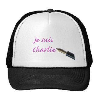 Je Suis Charlie - Vintage Pen Trucker Hat
