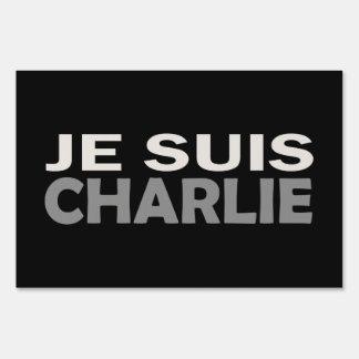 Je Suis Charlie Yard Sign