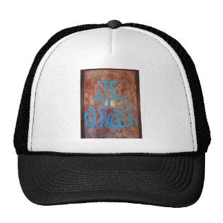 Je Suis Courageux Creation Trucker Hat