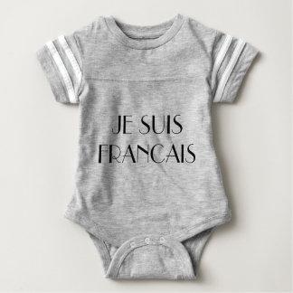 JE SUIS FRANCAIS BABY BODYSUIT