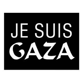 Je Suis Gaza Postcard