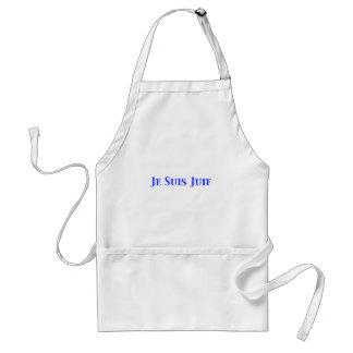 Je Suis Juif Jewish Solidarity Shirts and Gifts Adult Apron