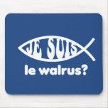 Je Suis Le Walrus Mouse Pad