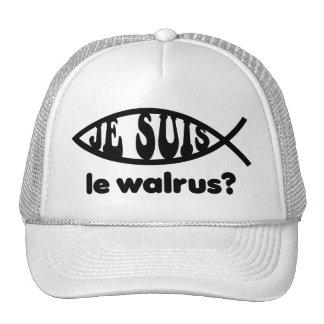 Je Suis Le Walrus Trucker Hat