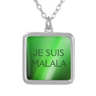 Je Suis Malala Collier Square Pendant Necklace