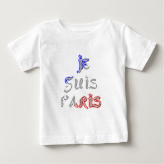 Je Suis Paris I love Paris Baby T-Shirt
