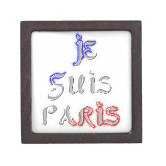 Je Suis Paris I love Paris Jewelry Box