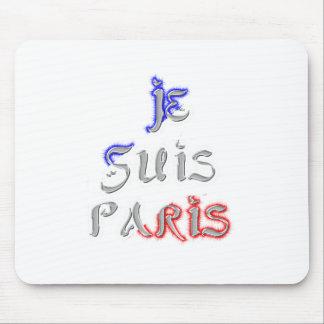 Je Suis Paris I love Paris Mouse Pad