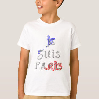 Je Suis Paris I love Paris T-Shirt