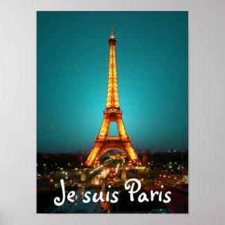 Je suis Paris Poster