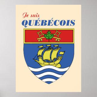 Je suis Quebecois Poster