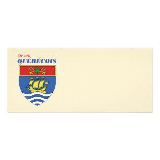 Je suis Quebecois Rack Card