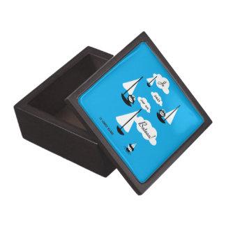 Je suis sur un Bateau! Jewelry Box