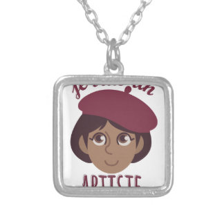 Je Susi Un Artiste Silver Plated Necklace