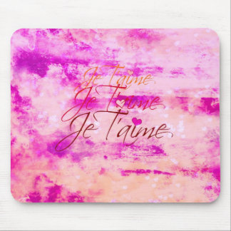 Je T aime Revisited Mousepad