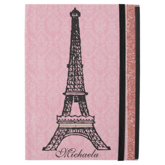 je t aime Vintage Paris Eiffel Tower iPad Pro Case