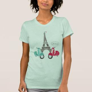 Je T'aime Eiffle Tower T-Shirt