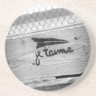 Je T'aime (I love you) Coaster