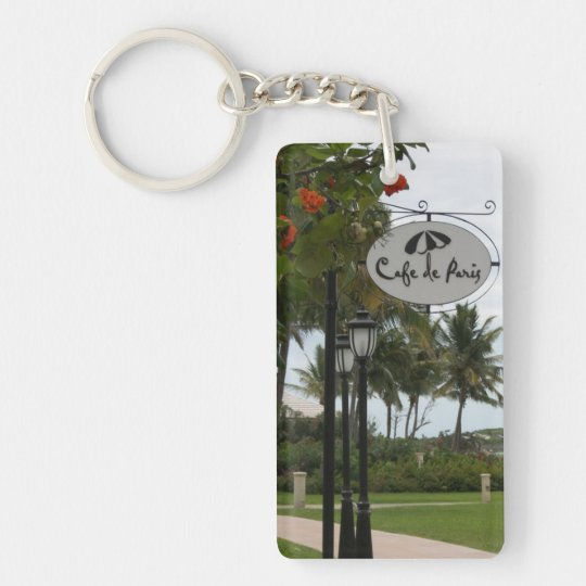 "je t'aime ""i love you"" in French Keychain"