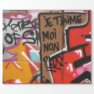 Je t'aime moi non plus - I love you, me neither Wrapping Paper