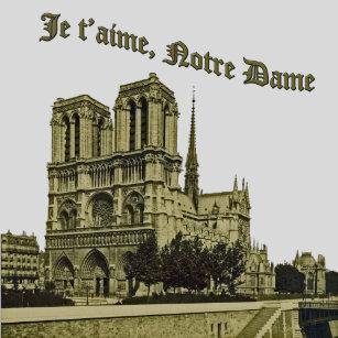 e8ce889a70f55 Notre Dame De Paris T-Shirts - T-Shirt Design   Printing