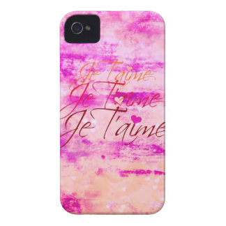 Je T'aime, Revisited iPhone 4 Case