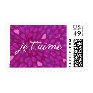 je t'aime stamp