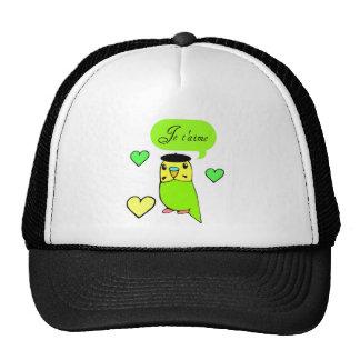 Je t'aime trucker hat