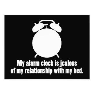 Jealous Alarm Clock Photo Print