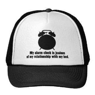 Jealous Alarm Clock Trucker Hat