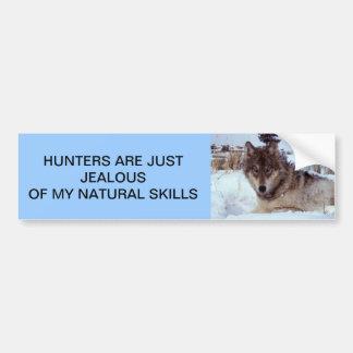 Jealous Bumper Sticker