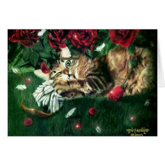 Jealous Cat Anti-Valentine Card