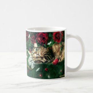 Jealous Cat Mug